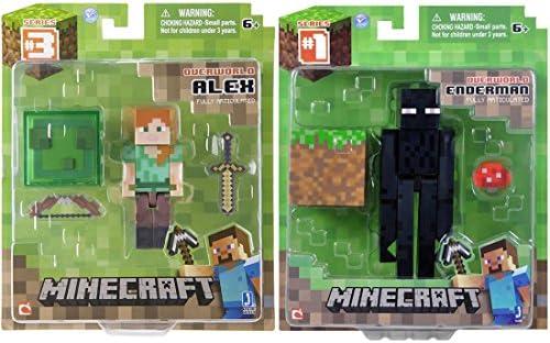 Minecraft Overworld Alex and Enderman Bundle: Amazon.es: Juguetes y juegos