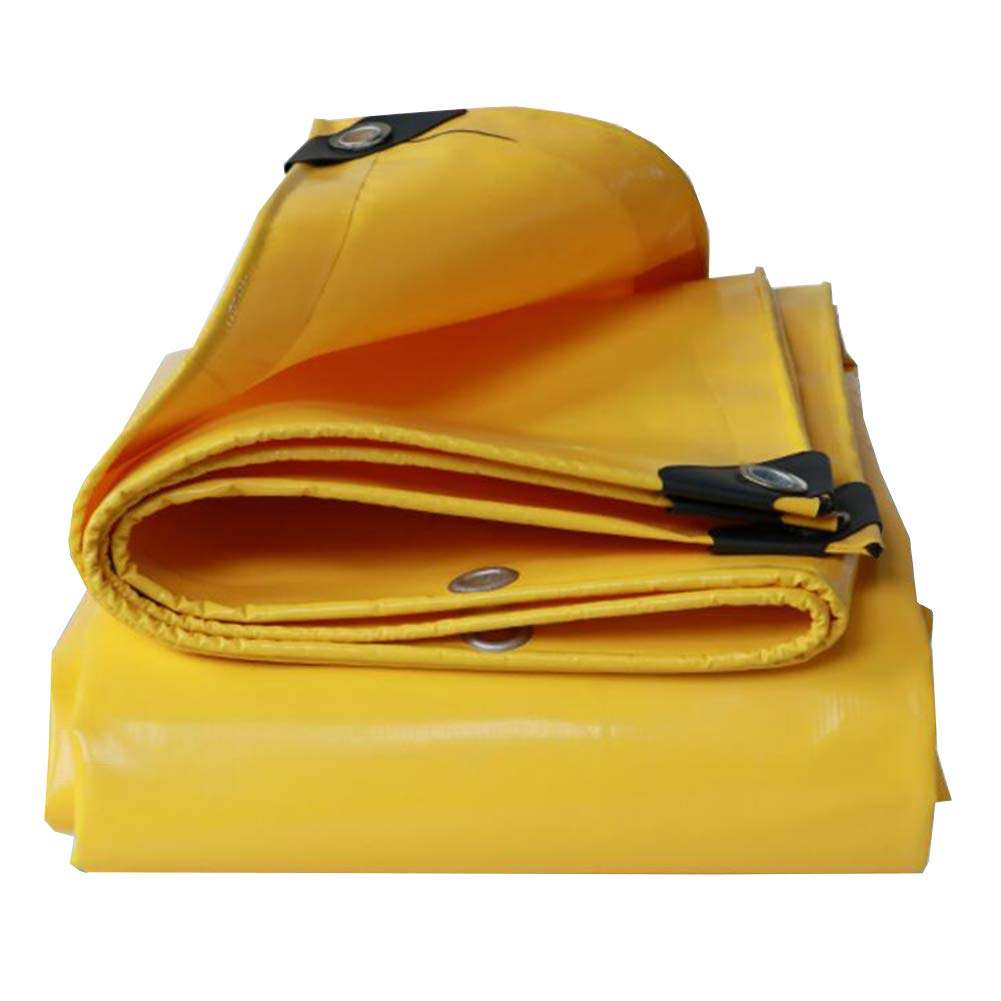 Le Jaune 33m MuMa BÂche PVC épaissir Imperméable Crème Solaire Imperméable Gros Camion Canopée De Plein Air (Couleur   Le Jaune, Taille   2  3m)