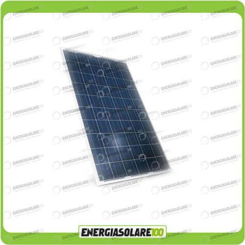 Pannello solare fotovoltaico 12V 200W in silicio policristallino EnergiaSolare100