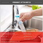Mucjun-Creativo-Acqua-spruzzatore-rubinetto-spruzzo-di-risparmio-acqua-da-cucina-Accessori-flessibile-Sink-Tap-Allegato-adattatore-regolabile-ugello-Spoublu