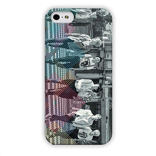 Bts IPhone Bangtan muchachos teléfono celular tapa Iphone5 02/5S