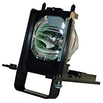 AuraBeam Economy Mitsubishi 915B455012 Television Replacement Lamp with Housing