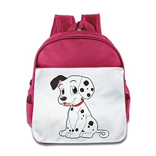 Kids 101 Dalmatians Dog School Backpack Child Little Girls Boys Pink