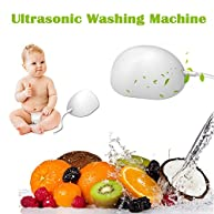 Ultrasonic Automatic Laundry Cleaning Egg Mini Portable Sterilization Washing Machine Washer Cleaner for Business Trip Travel Clothes Fruit and Vegetables
