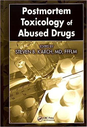 postmortem toxicology of abused drugs karch md ffflm steven b
