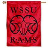WSSU Rams Double Sided House Flag