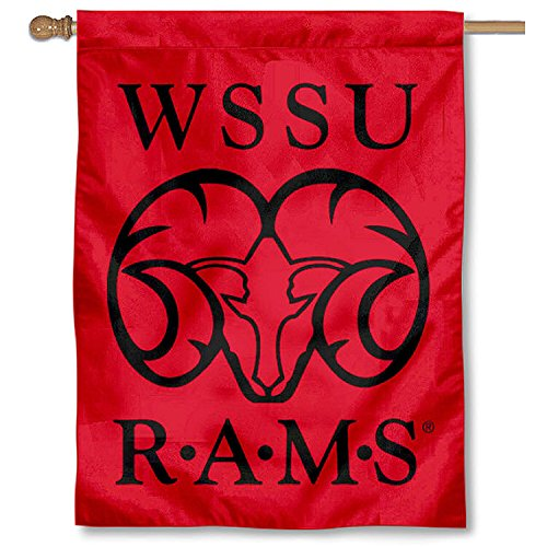 WSSU Rams Double Sided House Flag by College Flags and Banners Co.