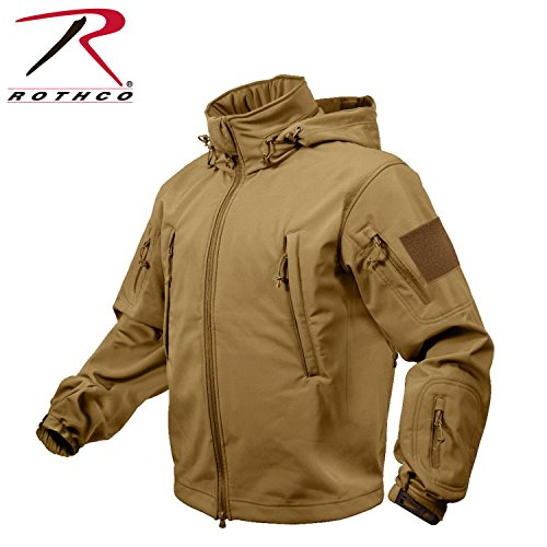 Rothco Special Ops Soft Shell Jacket, Coyote, 4X-Large