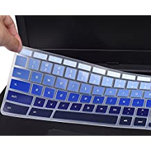 "For Acer Chromebook Keyboard Cover, Ultra Thin Anti Dust Keyboard Skin for New Acer Chromebook 11 CB3-131 / Chromebook R 11 CB5-132T / 13.3"" Chromebook R 13 CB5-312T Chromebook US Layout, Gradual Blue"