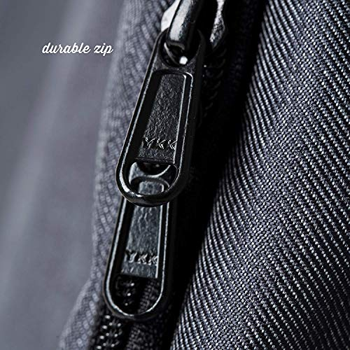 Premium Car Seat Travel Bag - Padded Backpack for Airplane Flight Gate Check In - Strong YKK Zip - Denim Color Protector Cover by Luvdbaby (Image #7)