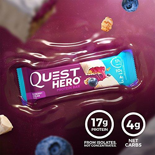 Quest Hero Bar, Blueberry