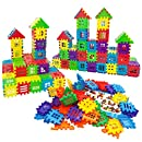IDGIRLS Building Blocks, Classic Construction Toy for Kids, 100 pcs Builder Bricks Preschool Building Sets for Children