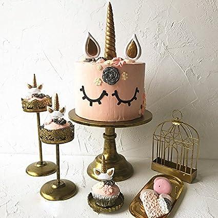 Xcross Topper De Tarta Decoracion Unicornio Para Cumpleanos - Pasteles-cumpleaos-infantiles