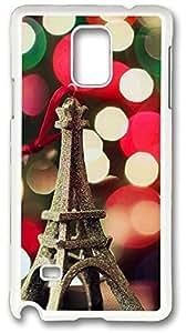 Eiffel Tower 1 Case Cover for Samsung Galaxy Note 4, Note 4 Case, Galaxy Note 4 Case Cover by runtopwell