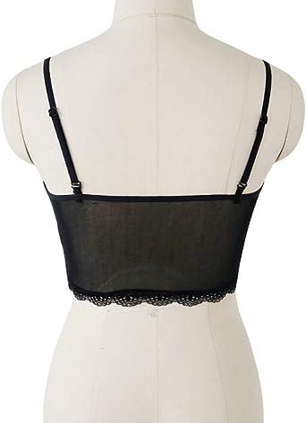Innerternet_Underwear de Mujer, Chalecos de Encaje calados con ...