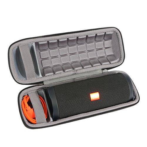 For JBL Flip 3 or JBL Flip 4 Splashproof Waterproof Portable Bluetooth Speaker Hard Case Sotrage Bag By Baval