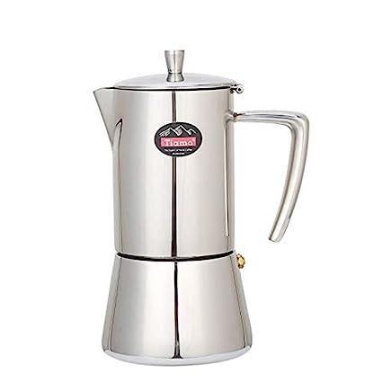 FenRui - Cafetera Italiana de café exprés, Olla Moka de ...