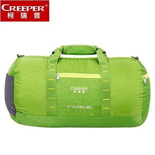 ZQ El nuevo hombre y la mujer del bolso de los bolsos de viajes de placer bolsa de viaje bolsa de viaje transeúntes cilindros bolso de hombro portable Mensajero , army green-20 inch , army green-20 in apple green-20 inch