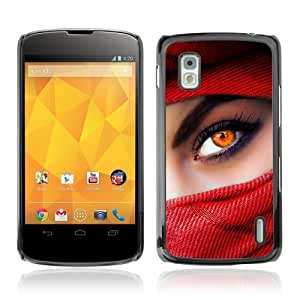 YOYOSHOP [Beautiful Eyes] LG Google Nexus 4 Case