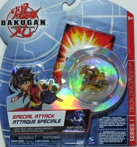Bakugan Special Attack Delta Dragonoid II Booster Pack Brown Tan with Haos Attribute Symbol - Special Attack Booster Pack