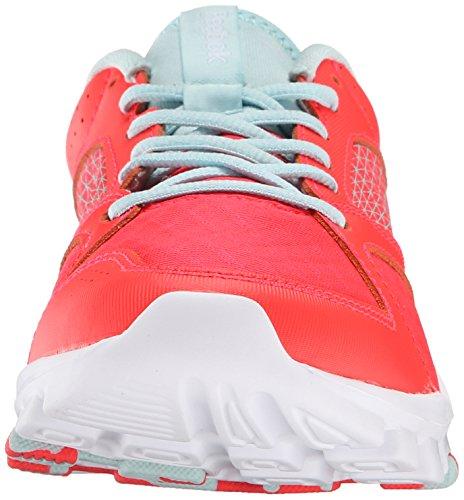 Zapatillas De Entrenamiento Reebok Mujeres Yourflex Trainette 7.0 Lmt Neon Cherry / Cool Breeze / White