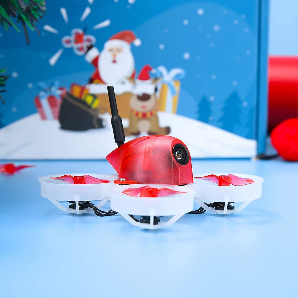 Red iFlight A65 Tiny Whoop 1S Brushless FPV Micro Drone Built with TBS Crossfire Nano RX for FPV Starter to Fly Both Indoor and Outdoor