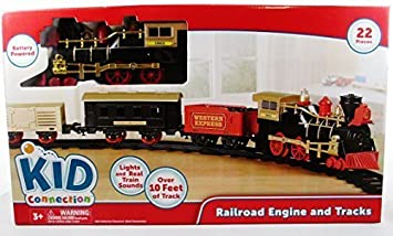 kids connection 22 piece train set battery operated by walmart