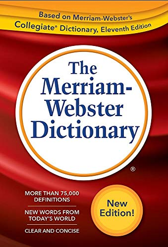 Compact Thesaurus - The Merriam-Webster Dictionary, New Trade Paperback, 2019 Copyright