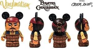 Amazon Disney Vinylmation 3 Figure Pirates Of Caribbean Jack Sparrow In Barrel LOOK Toys