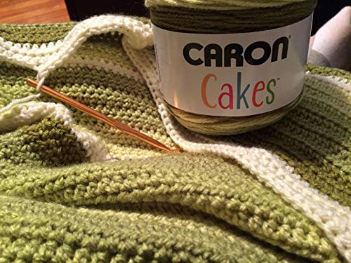 Caron Cakes Self-Striping Yarn ~ PISTACHIO ~ 7.1 oz. Cake by the Each