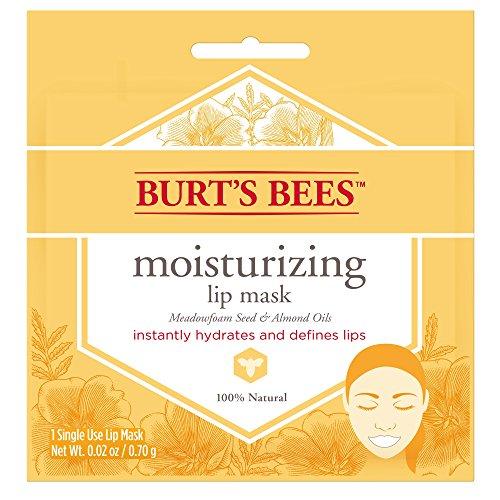 Burt's Bees Moisturizing Lip Mask for Women, 0.02 Ounce