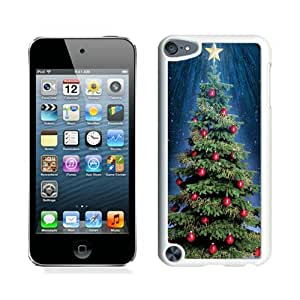 Ipod touch 5 cases,Christmas tree iPod Touch 5 Case White cover