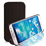 RevJams FlipBack HG Smart Case/Cover with Stand for Samsung Galaxy S4 (Verizon, AT&T, T-Mobile, Sprint) (BLK/BLK)