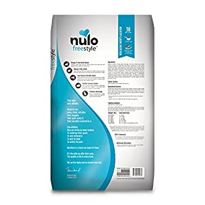 Nulo Grain Free Dog Food: All Natural Adult Dry Pet Food for Large and Small Breed Dogs (Salmon, 24lb)