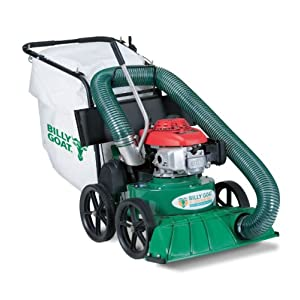 Billy Goat KV600SP Lawn and Litter Vacuum, 190 cc Briggs Engine, Mesh Bag with Dust Skirt, Self Propelled