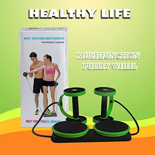 MACUNIN Multi Function Double Ab Roller Wheel,New Version Ab Wheel,Exercise and Fitness Wheel for Home Gym,Abdomen and Arm Workout Equipment Waist Slimming Trainer for Man and Women 7