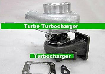 GOWE Turbocompresor para T70 Turbo Ar: .63 Ar: .70 turbina del turbocompresor para Mustang Supra RX7 Cívica modificado perfecto para 6 cilindro motor: ...
