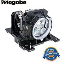 Mogobe DT00841 Compatible Projector Lamp with Housing for Hitachi Cp-X200 Cp-X205 Cp-X300 Cp-X305 Cp-X400 Ed-X30 Ed-X32 Series Projectors