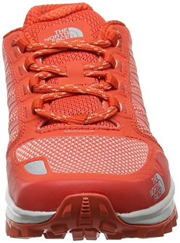 Zapatillas The Orange Rojo para Red Fastpack Mujer de Litewave Flower Senderismo Desert North Face Fire Brick wpZqTrWIp