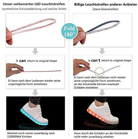 LeKuni LED Shoes Upgraded Light Up - 2
