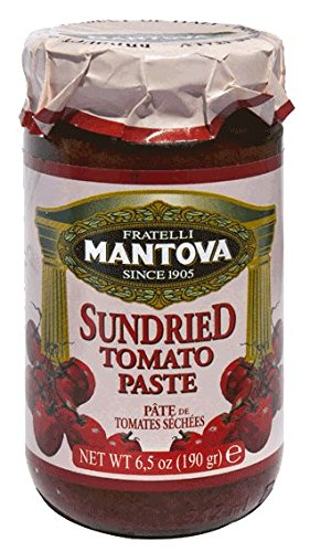 Mantova Sundried Tomato Paste, 6.5-Ounce Bottles (Pack of (Pizza Sauce Tomato Paste)