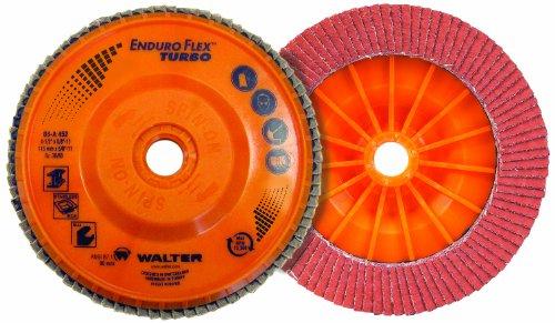 Walter Enduro-Flex Turbo Abrasive Flap Disc, Type 29, 5/8