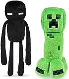 "Minecraft 7"" Plush Enderman & Creeper Set Of 2"