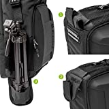 Evecase Digital Camera DSLR Backpack with Laptop