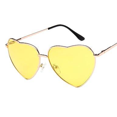 Gysad Gafas de sol Forma de corazón Gafas de sol mujer Moda ...