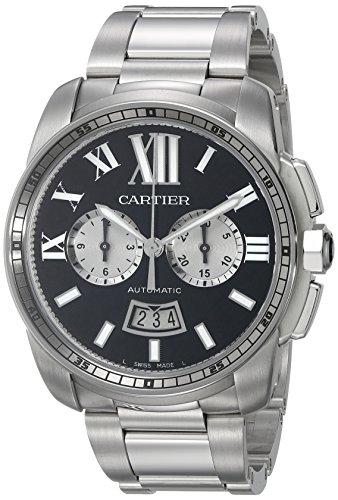 Cartier-Mens-W7100061-Analog-Display-Swiss-Automatic-Silver-Watch