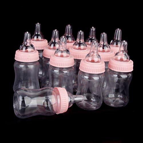 rose 12pcs LEORX Mini bonbons bouteille b/éb/é douche faveurs coffret