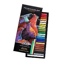 Prismacolor Premier NuPastel Firm Pastel Color Sticks, 24-Count