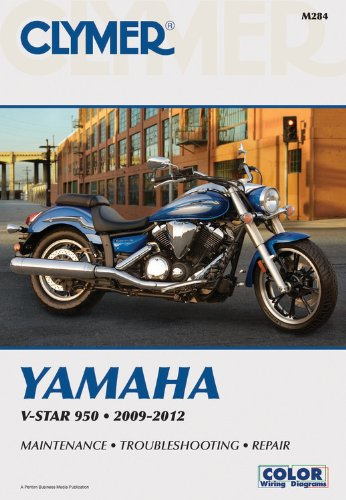 Clymer Yamaha Motorcycle Repair Manual M284
