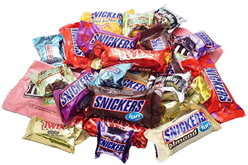 OUT OF SEASON Chocolate Assortment Favorite Candy of M&M's, Snickers, MilkyWay, Twix (1 lb) Bulk of Snacks. Perfect for Valentine's Day, Party or Easter